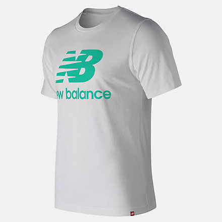 New Balance Essentials Relaxed fit Stacked Logo Tee, MT93605NEM image number null