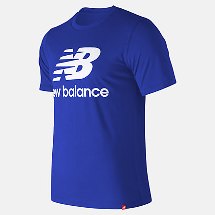 New Balance Essentials Relaxed fit Stacked Logo Tee, MT93605TRY image number null