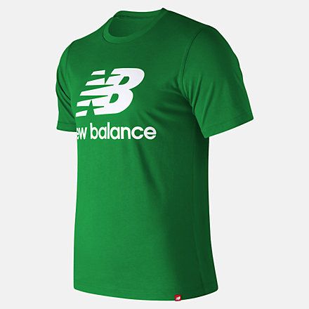 New Balance Essentials Relaxed fit Stacked Logo Tee, MT93605VGN image number null