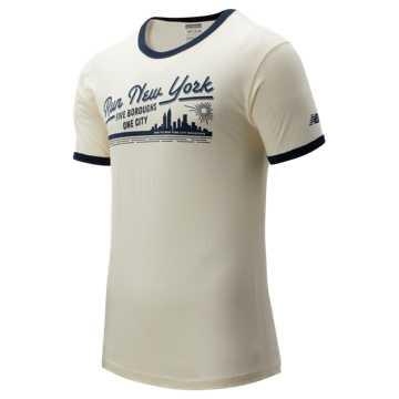 New Balance NYC Marathon Vintage Ringer, White