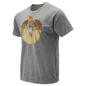 New Balance 2019 NYC Marathon Medal Graphic Tee, Athletic Grey
