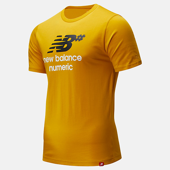 New Balance NB Numeric Logo Stacked Tee, MT93650VGL