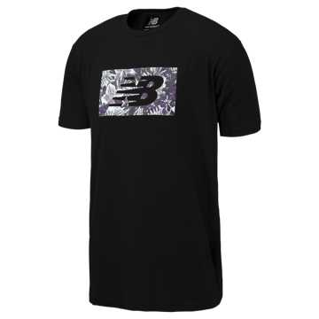 New Balance NB All Coasts Floral Tee, Black