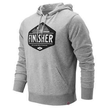 New Balance NYC Marathon Finisher Hoodie, Athletic Grey