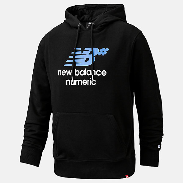NB Sweats à capuche NB Numeric Logo Stacked, MT93657BM