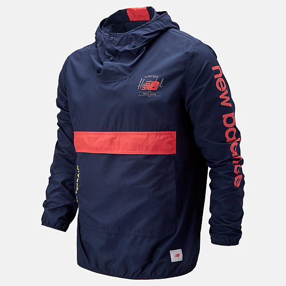 NB Veste Herschel Packable Anorak, MT93670NIN