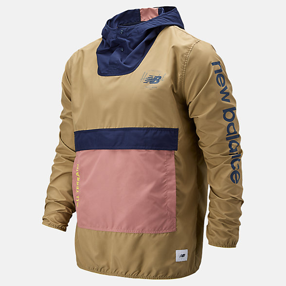 NB Herschel Packable Anorak Jacket, MT93670RCK