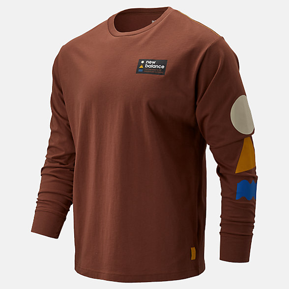 NB NB Athletics Trail Long Sleeve T-Shirt, MT93693WXU