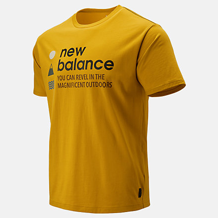 New Balance NB Athletics Trail SS Tee, MT93694VGL image number null