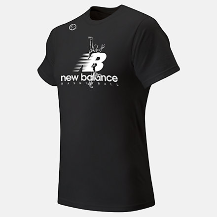 New Balance The Shot Tee, MT93703BK image number null