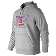 New Balance 2 Time Champ Hoodie, Athletic Grey