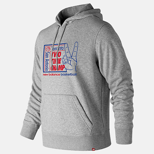 New Balance 2 Time Champ Hoodie, MT93705AG