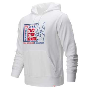 New Balance 2 Time Champ Hoodie, White