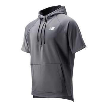 New Balance BP Fleece Hoodie, Gunmetal