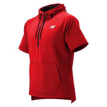 New Balance BP Fleece Hoodie, Team Red Inline