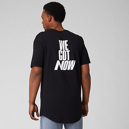 New Balance We Got Now Tee, MT93781BK image number null