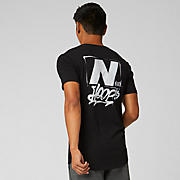 New Balance We Got Now Tee, Black with White