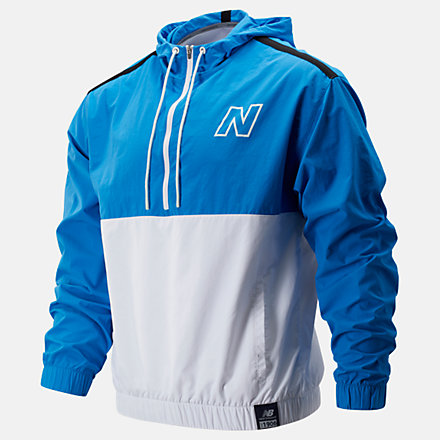 New Balance NB Classic Anorak, MT93903WT image number null