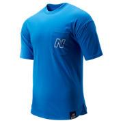 New Balance NB Classic PKT Tee, Lapis Blue
