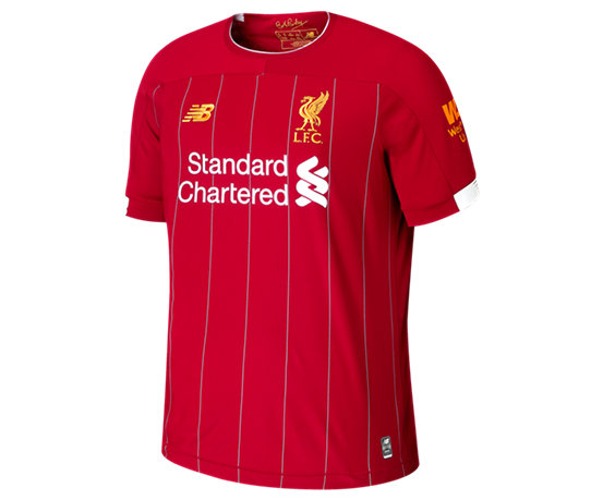 e91f4796c Liverpool FC Home SS Jersey EPL Patch