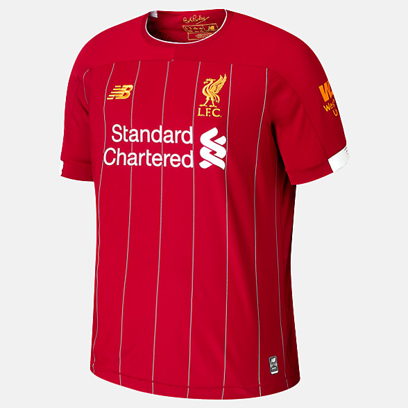 New Balance Liverpool FC Home SS Jersey EPL Patch, MT939801HME