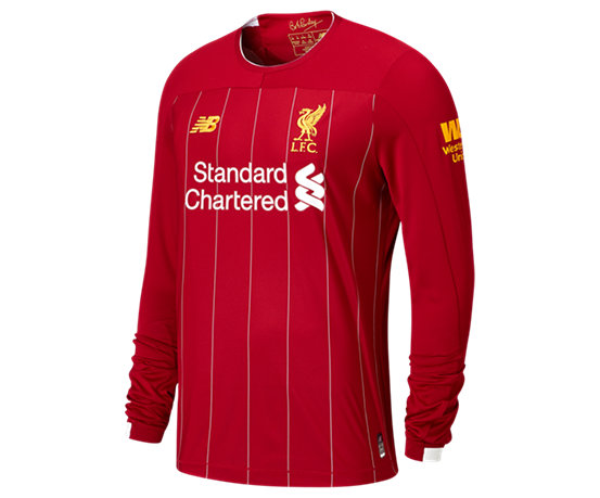837098889c1 Men s Apparel Size   Fit Chart. Liverpool FC Home LS Jersey ...