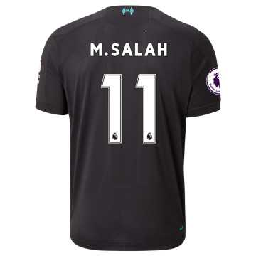 New Balance Liverpool FC 3rd SS Salah EPL Patch, Phantom with White