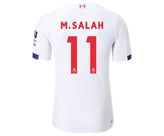 90dbc9dae7 Liverpool FC Away SS Jersey Salah No EPL Patch