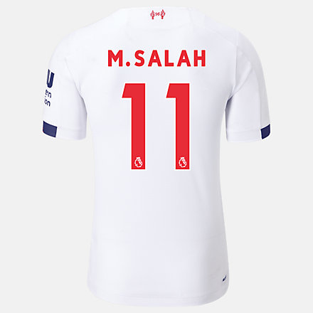 New Balance Liverpool FC Away SS Jersey Salah No EPL Patch, MT939814AWY image number null