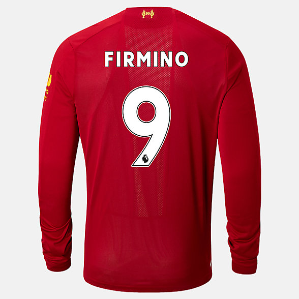 NB Liverpool FC Home LS Jersey Firmino No EPL Patch, MT939823HME