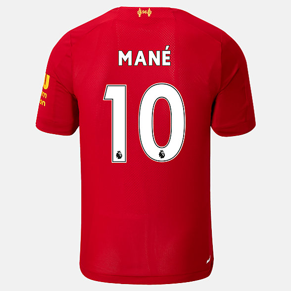 NB Liverpool FC Kurzarm Heimtrikot Mane No EPL Patch, MT939832HME