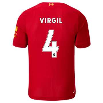 3e7a9b34234 New Balance Liverpool FC Home SS Jersey Virgil No EPL Patch
