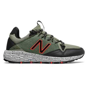New Balance Fresh Foam Crag Trail, Faded Rosin with Mineral Green & Black
