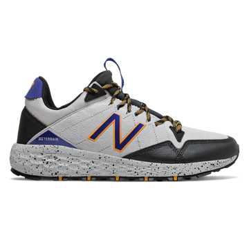 New Balance Fresh Foam Crag Trail, Marblehead with Black & Team Royal