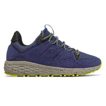 New Balance Fresh Foam Crag Trail, Techtonic Blue with Sulphur Yellow