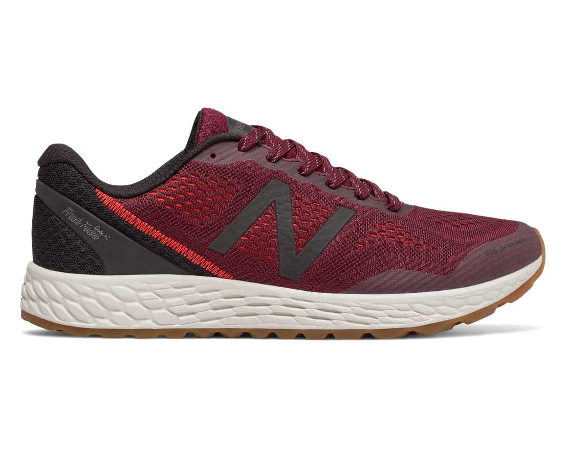 NB Fresh Foam Gobi Trail v2, Oxblood with Black
