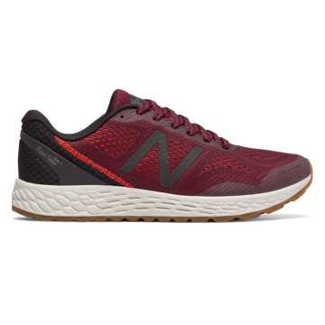 New Balance Fresh Foam Gobi Trail v2, Oxblood with Black