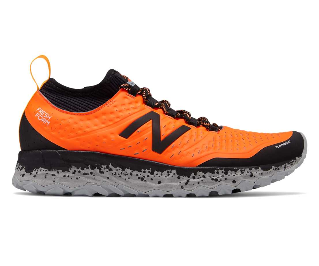 5W2F New Balance Fresh Foam Hierro Trail Running Shoes Womens Black Good Deal Outlet Store