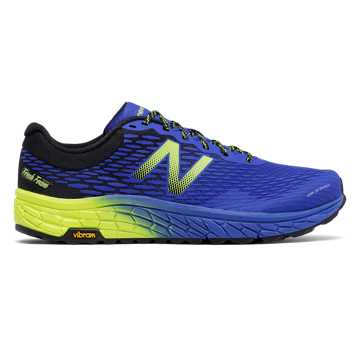 New Balance Fresh Foam Hierro v2, Electric Blue with UV Blue & Hi-Lite