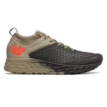 New Balance Fresh Foam Hierro v4, Black with Trench & Alpha Orange