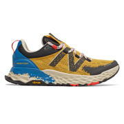 NB Fresh Foam Hierro v5, Varsity Gold with Neo Classic Blue & Phantom