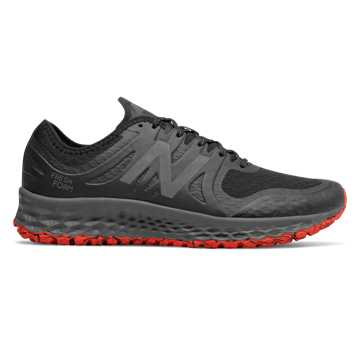 New Balance Fresh Foam Kaymin TRL, Black with Flame