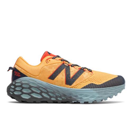 New Balance Hombre Fresh Foam More Trail v1 - Orange/Grey, Orange/Grey