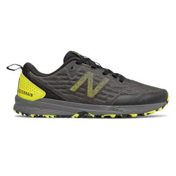 New Balance NITREL v3, Black with Sulphur Yellow