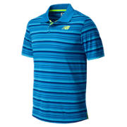 New Balance Tournament Polo, Laser Blue