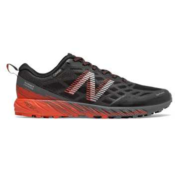 New Balance Summit Unknown GTX, Black with Lead & Coral Glow