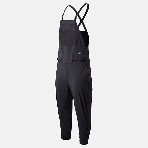 New Balance Speedrift 男女同款速干背带裤, MU03909BK