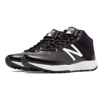 New Balance Mid-Cut 950v2 Umpire, Black with White
