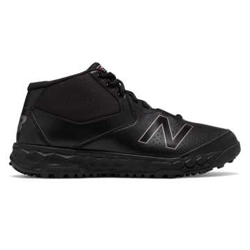 New Balance Fresh Foam 950v3 Mid-Cut Field, Black with Black Caviar