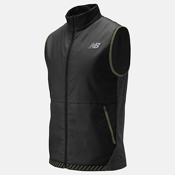 New Balance NB Heat Grid Vest, MV01274BKH